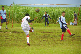 Soccer for San Luis