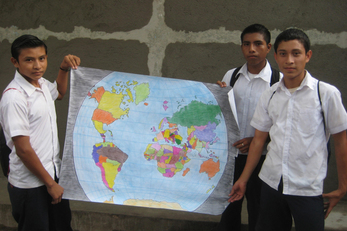 The World at our Fingertips: World Map Mural