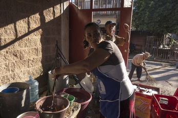 Community Cooking and Environmental Education in Ojos de Agua
