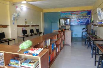Self Sustaining School Technical Library and Computing Center
